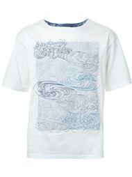 футболка с вышивкой Factotum