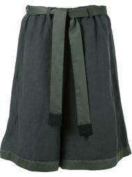 широкие шорты с поясом Factotum