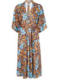 платье-миди с цветочным принтом Tome