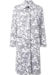 пальто с цветочным принтом  Le Ciel Bleu