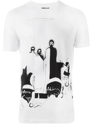 футболка с принтом 'Maasi' McQ Alexander McQueen