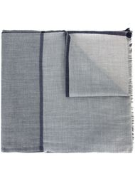 frayed edge scarf Brunello Cucinelli