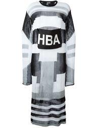вязаное платье  Hood By Air