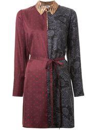платье-рубашка колор-блок  Sonia By Sonia Rykiel