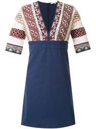 платье с вышивкой  Vanessa Bruno