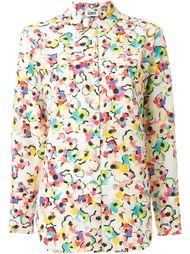 рубашка с цветочным принтом   Sonia By Sonia Rykiel