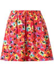 шорты с цветочным принтом   Sonia By Sonia Rykiel