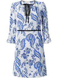 платье с цветочным принтом   Vanessa Bruno