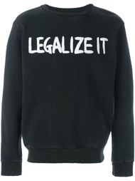 толстовка 'Legalize It' Palm Angels