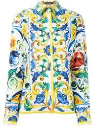 Majolica print shirt Dolce & Gabbana