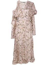 платье средней длины с цветочным узором Preen By Thornton Bregazzi