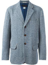 herringbone tweed jacket Issey Miyake Vintage