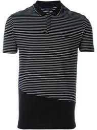 футболка-поло в полоску Lanvin