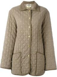 стеганое пальто Hermès Vintage