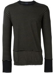 striped panel jumper Lanvin