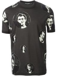 футболка 'James Dean Bubble' с принтом  Dolce & Gabbana