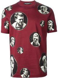 футболка с принтом 'James Dean' Dolce & Gabbana