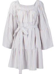 платье с поясом  Lisa Marie Fernandez