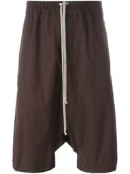 drawstring shorts Rick Owens