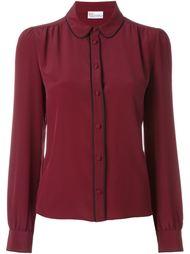 рубашка с контрастной окантовкой  Red Valentino