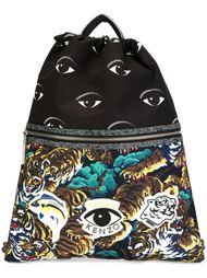 рюкзак с принтом  Kenzo