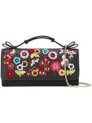 сумка с цветочной отделкой Red Valentino