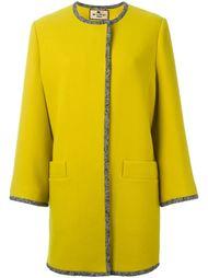 пальто без воротника  Etro