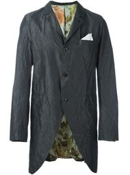 long creased blazer Geoffrey B. Small