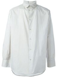 striped shirt Geoffrey B. Small