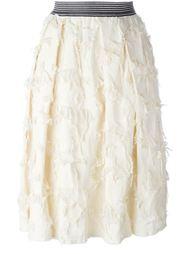 юбка с рваными деталями   Twin-Set