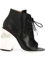 сапоги на шнуровке Off-White