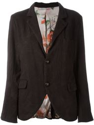 two button casual blazer Geoffrey B. Small