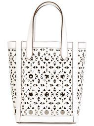 сумка-тоут с перфорированным дизайном  Max Mara
