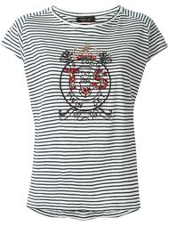 декорированная футболка с логотипом  Twin-Set