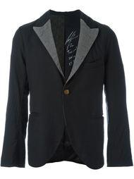 contrasting lapel blazer Geoffrey B. Small