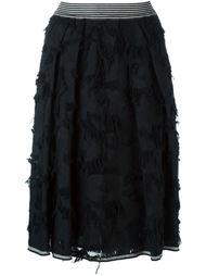 юбка с необработанными краями   Twin-Set