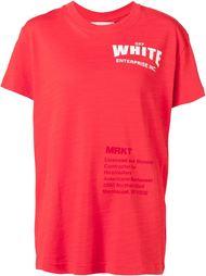 футболка с надписью Off-White