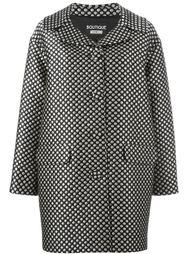 пальто с узором в горох Boutique Moschino