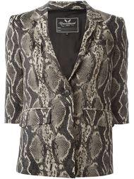 snakeskin effect jacket Unconditional