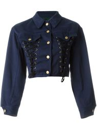 Junior Gaultier corset denim jacket Jean Paul Gaultier Vintage