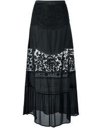 юбка с кружевными вставками  Twin-Set