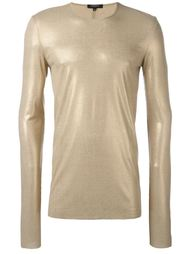ribbed foil T-shirt Unconditional