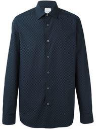 micro geometric print shirt Paul Smith