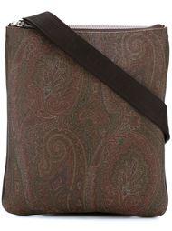 сумка-почтальонка  с принтом пейсли   Etro