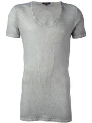 longline short-sleeved T-shirt Unconditional