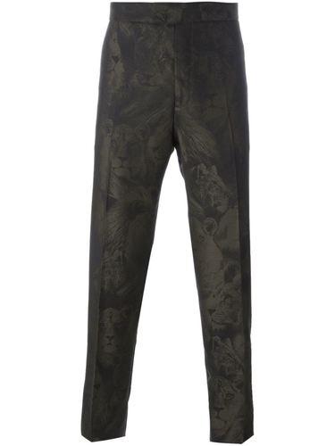 классические брюки 'Leo Camouflage' Roberto Cavalli