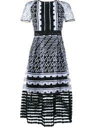 миди платье с вышивкой Jonathan Simkhai