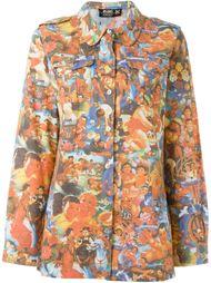 JPG Jeans printed shirt Jean Paul Gaultier Vintage