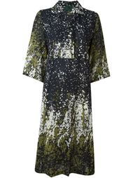 Junior Gaultier sheer patterned dress Jean Paul Gaultier Vintage