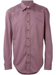 embroidered logo shirt Vivienne Westwood Man